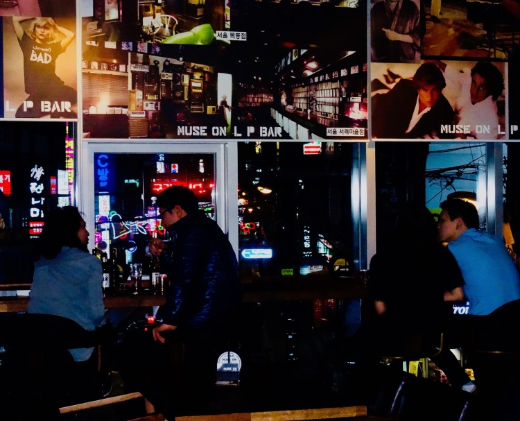 Muse On LP Vinyl Bar Busan Korea