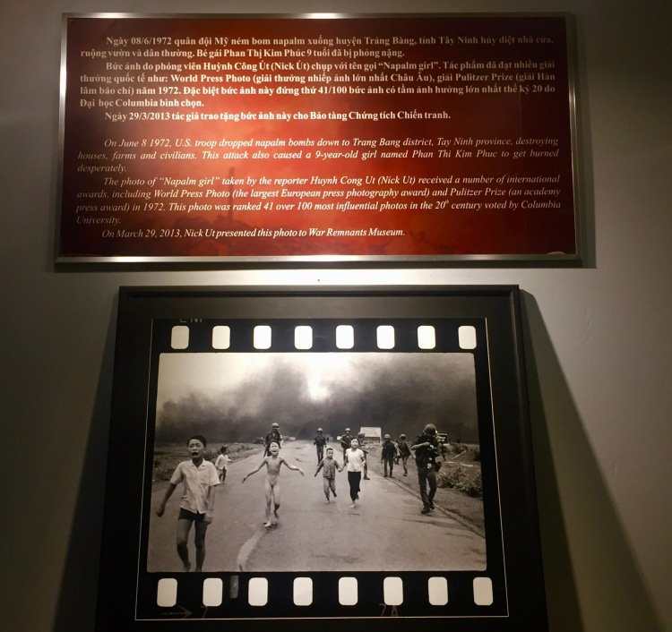 Napalm Girl The War Remnants Museum Ho Chi Minh Vietnam