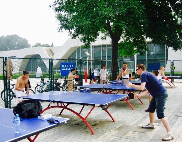 outdoor table tennis Beijing