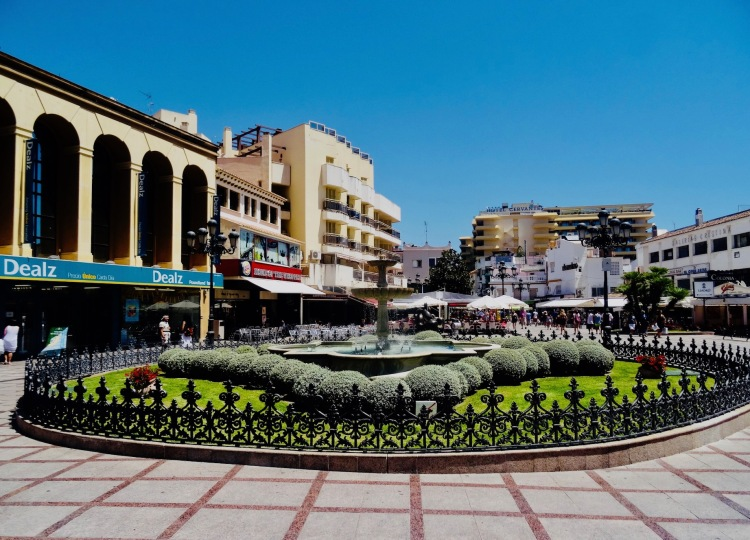 Plaza de La Nogalera Torremolinos The Costa Del Sol Spain