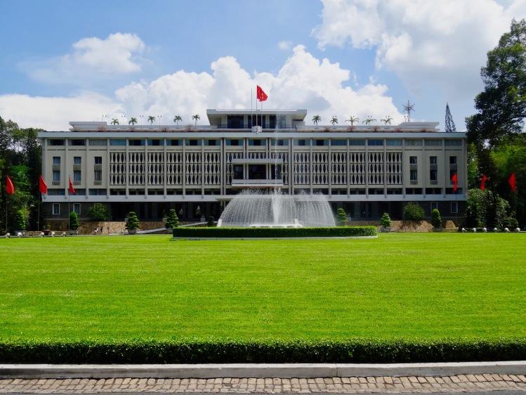 Reunification Palace Ho Chi Minh Vietnam