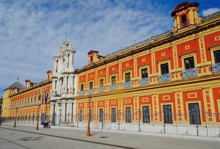 San Telmo Palace Seville Spain
