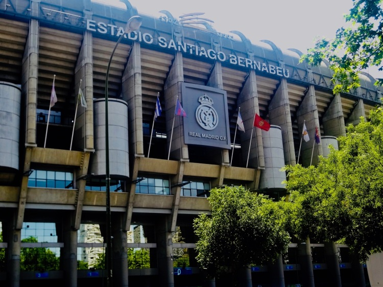 Santiago Bernabeu Stadium Madrid Spain