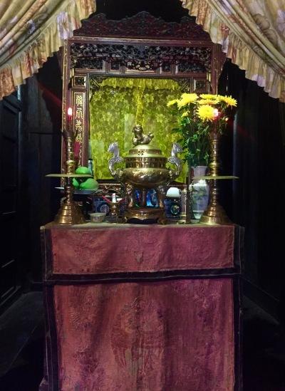 Shrine Tan Ky House Hoi An Vietnam