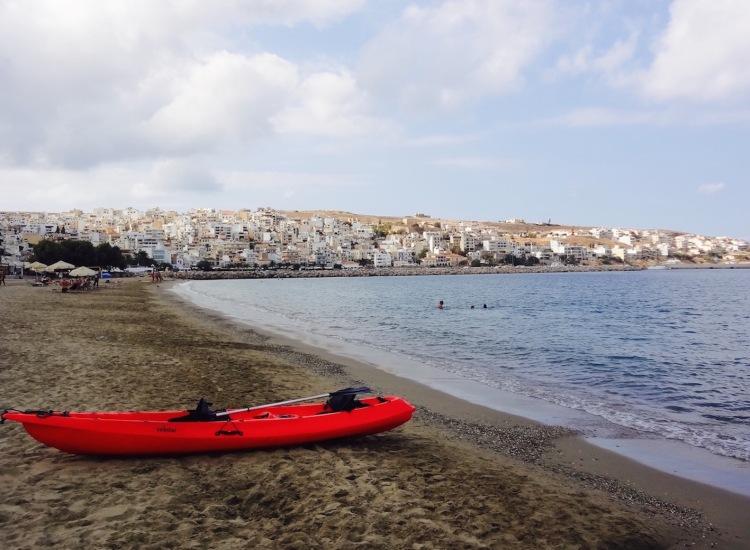Sitia Beach Crete Greece