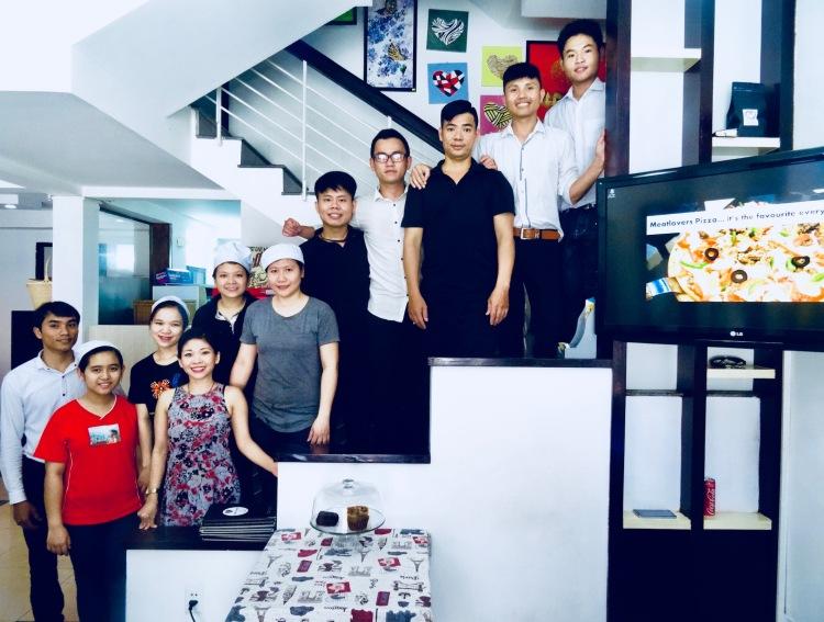 Staff photo The Happy Heart Cafe Danang Vietnam