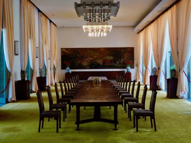 State Banqueting Hall Reunification Palace Ho Chi Minh Vietnam
