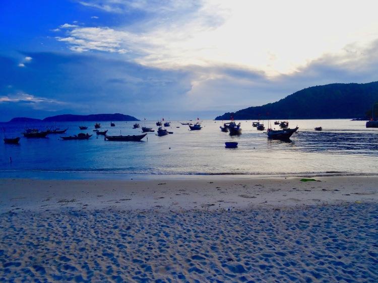 Sunset Bai Xep Beach Cham Island Vietnam