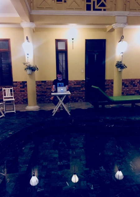 Swimming pool Thanh Van 1 Hotel Hoi An Vietnam
