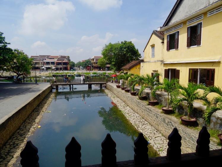 Thu Bon River Japanese Covered Bridge Hoi An Vietnam