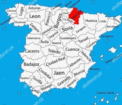 Travel Navarre province, Spain