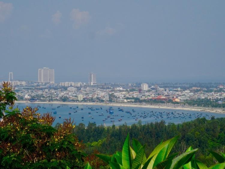 Views of Danang from Monkey Mountain, Vietnam