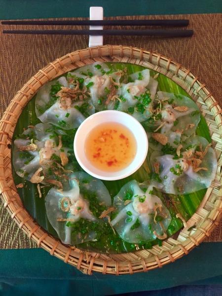 White Rose dish The White Lotus Restaurant Hoi An Vietnam