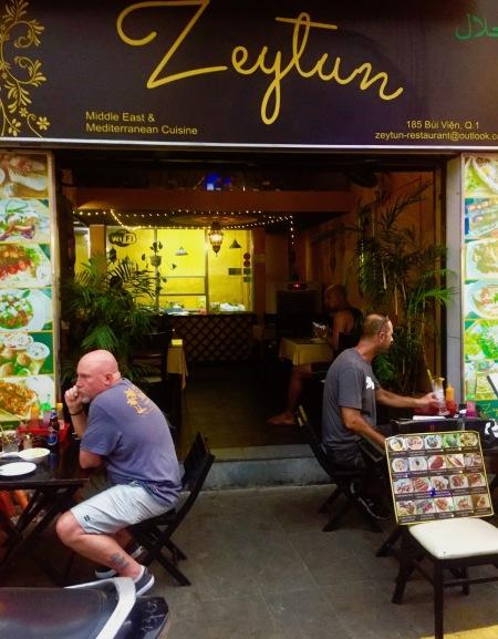 Zeytun Middle Eastern Restaurant Bui Vien Street Ho Chi Minh Vietnam