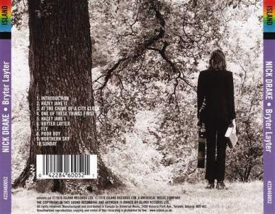 Back cover Bryter Layter Nick Drake album review