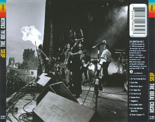 Back cover The Ideal Crash dEUS album review