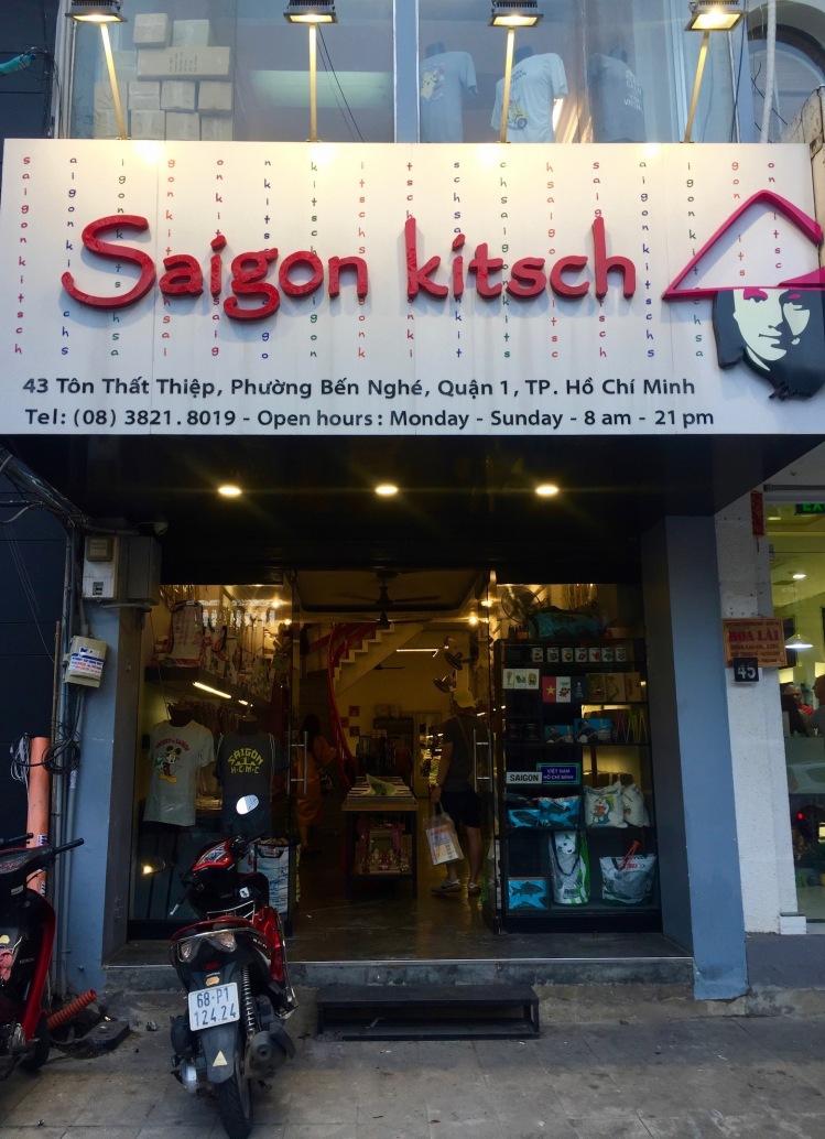 Entrance Saigon Kitsch Ho Chi Minh Vietnam