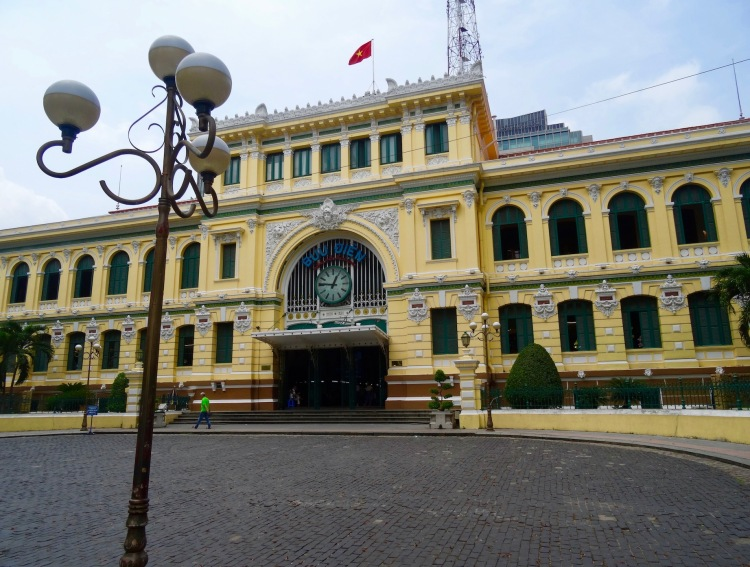 Exterior Central Post Office Ho Chi Minh