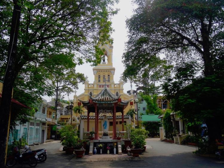 Exterior Cha Tam Church Ho Chi Minh Vietnam