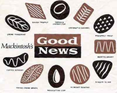 Good News chocolates Mackintosh Savoy Truffle The Beatles album review