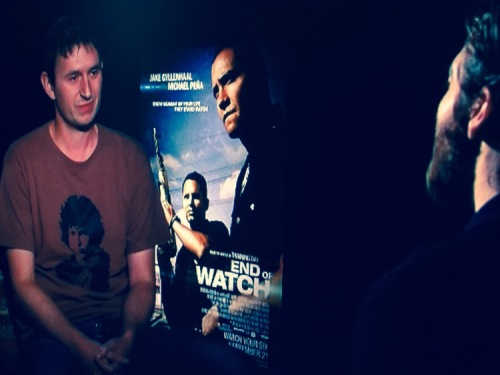 Jake Gyllenhaal interview End of Watch New York October 2012