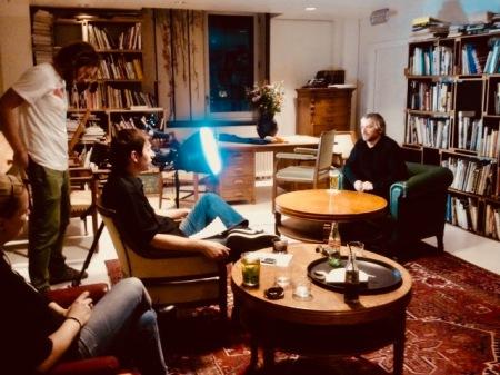 John Bramwell interview I Am Kloot Amsterdam November 2012