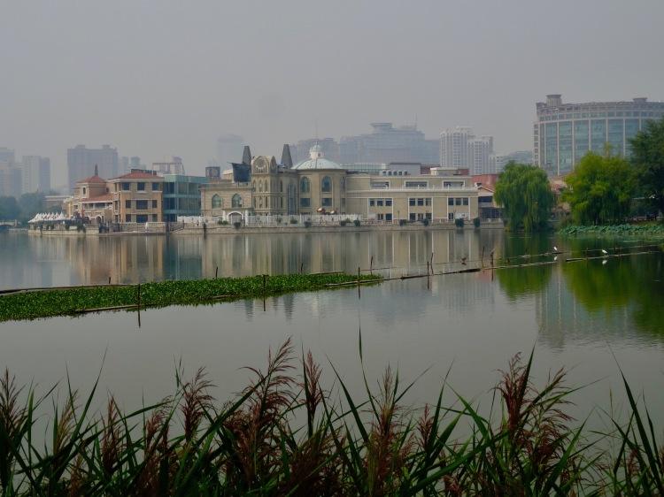 Lotus Lake Chaoyang Park Beijing