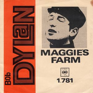 Maggie's Farm Bringing it all Back Home Bob Dylan album review