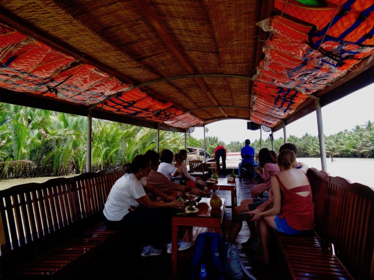 Mekong Delta River cruise Deluxe Group Tours