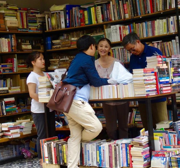 Nguyen Van Binh Book Street Ho Chi Minh Vietnam