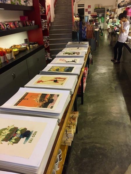 Propaganda prints Saigon Kitsch Ho Chi Minh Vietnam