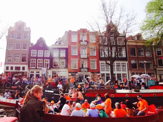 Queen's Day Amsterdam The Netherlands