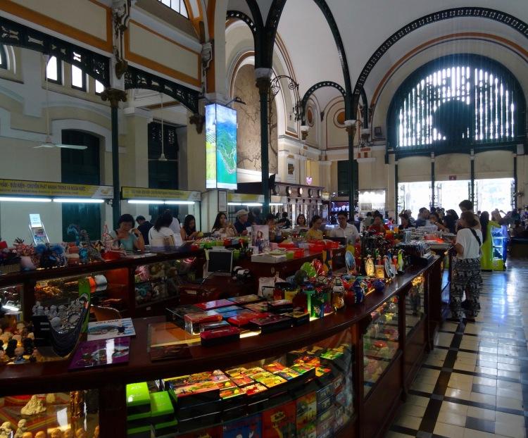 Souvenir shop Central Post Office Ho Chi Minh