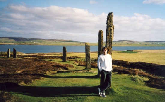 Standing Stones of Stenness Orkney Scotland