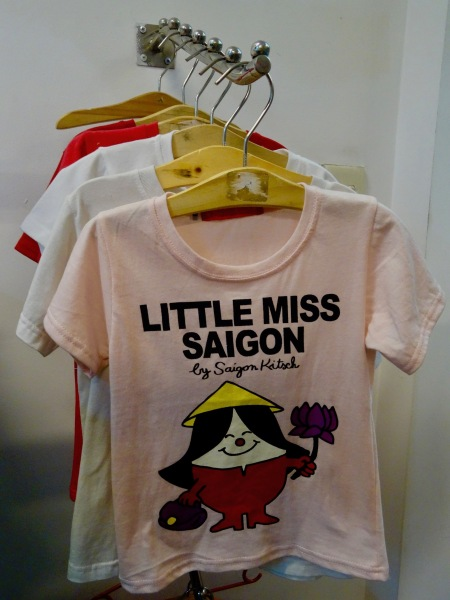 t-shirts Saigon Kitsch Ho Chi Minh Vietnam