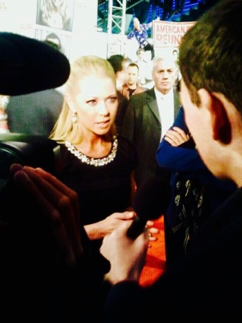Tara Reid Interview red carpet Amsterdam March 2012