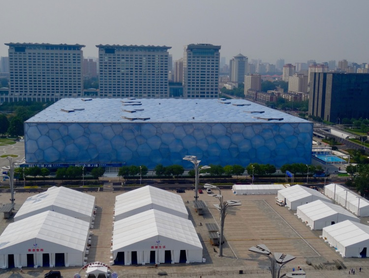 The Water Cube National Aquatics Center Beijing China