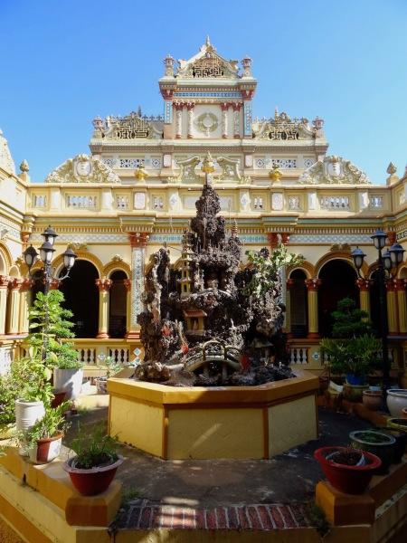 Vinh Trang Pagoda The Mekong Delta Vietnam