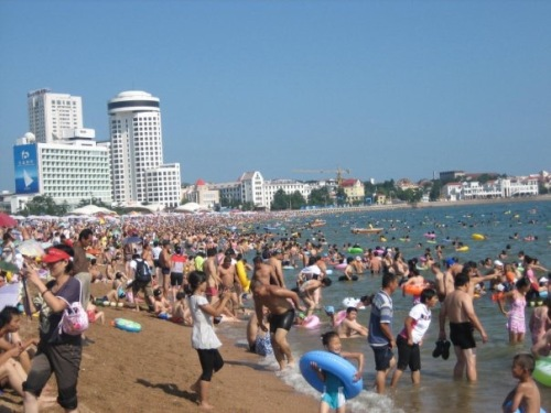 Beach Number 1 Qingdao Shandong Province China