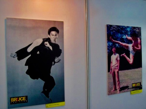Bruce Lee exhibition Chaoyang Park October 2009