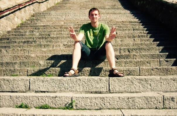 Climbing Mount Tai Shandong Province China