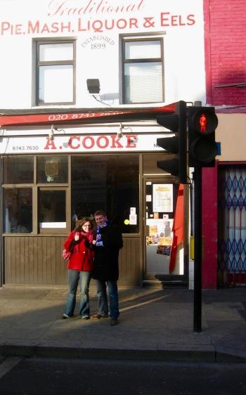 Cooke's Pie and Mash Shepherd's Bush London