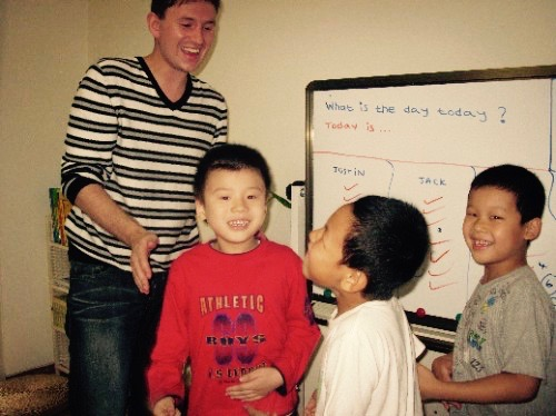 English language school Shangdi Beijing