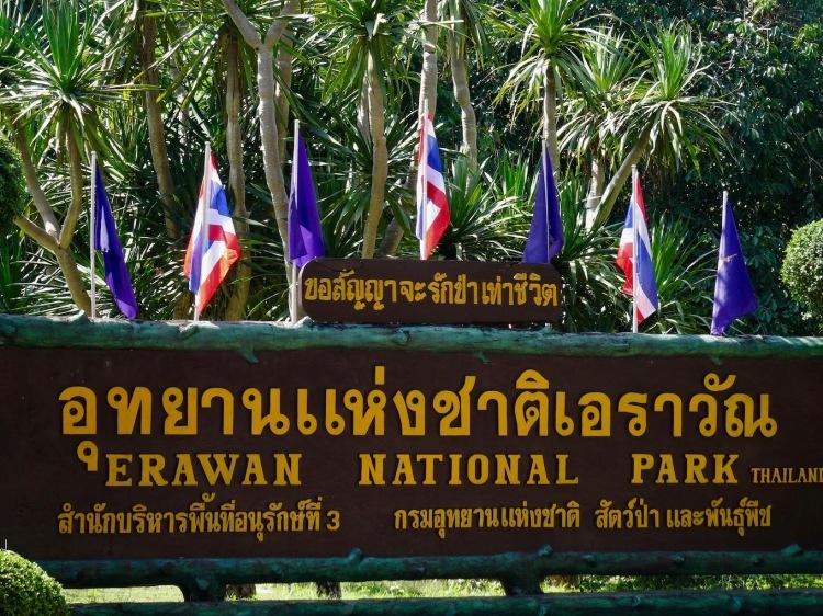Erawan Falls Erawan National Park Kanchanaburi Thailand