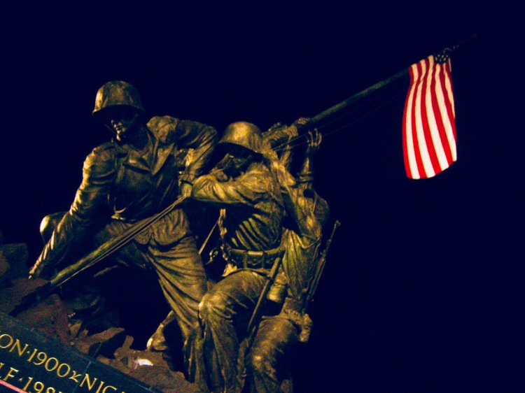 Iwo Jima Marine Corps Memorial Arlington County Virginia