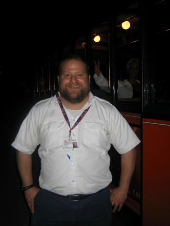 Jason the guide Monuments by Moonlight Trolley Tour Washington DC