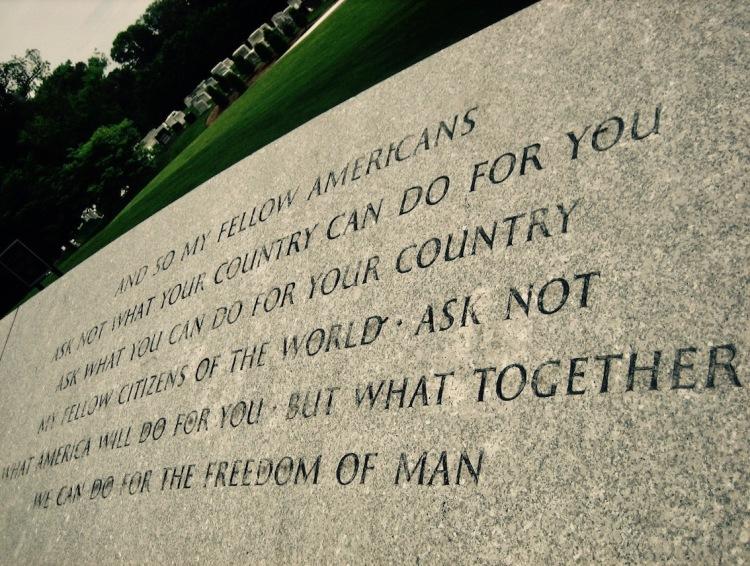 JFK memorial Arlington Cemetery Virginia USA