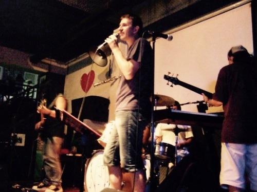 Live music Lennon Bar Qingdao Shandong province China
