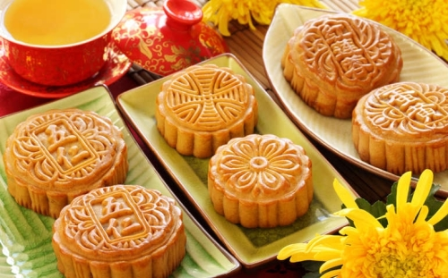 Mooncake October Golden Week National Holiday China