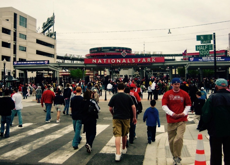 Nationals Park Baseball Stadium Navy Yard Washington DC